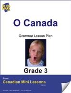 O Canada Writing and Grammar Lesson Gr. 3