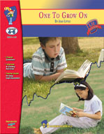 One To Grow On: Novel Study Guide