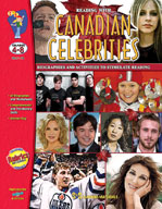 Reading With Canadian Celebrities (Grades 4-8) [Enhanced eBook]