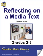 Reflecting on a Media Text Lesson Plan Gr. 2-3