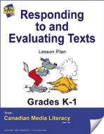 Responding to and Evaluating Texts Lesson Plan Gr. K-1