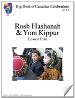 Rosh Hashanah and Yom Kippur Lesson Plan