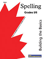 Spelling Grade 5-6: Building the Basics