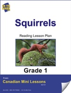 Squirrels Reading Lesson Gr. 1