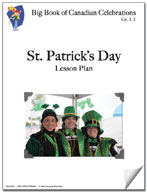 St. Patrick's Day Lesson Plan