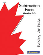 Subtraction Facts Grade 2-3: Building the Basics