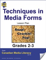 Techniques in Media Forms Lesson Plan Gr. 2-3