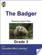 The Badger Reading Lesson Gr. 3