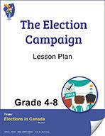 The Election Campaign Grades 4 to 8 (e-lesson plan)