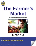 The Farmers' Market Writing and Grammar Lesson Gr. 3