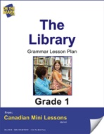The Library Grammar Lesson Gr. 1