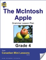 The McIntosh Apple Writing and Grammar Lesson Gr. 4
