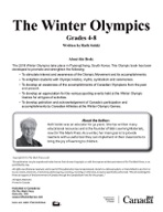 2018 Winter Olympics Grade 4-6 (Enhanced eBook)