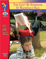 This Can't Be Happening At Macdonald Hall: Novel Study Guide