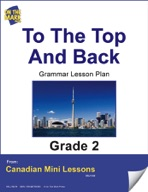 To the Top and Back Grammar Lesson Gr. 2