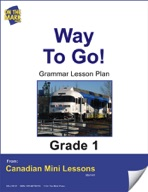 Way to Go Grammar Lesson Gr. 1