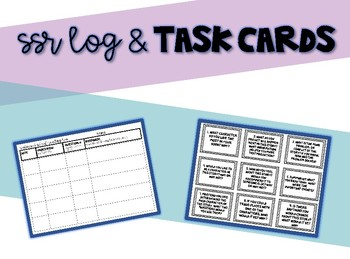 SSR Log and Question Task Cards