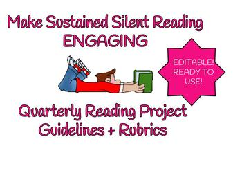 SSR Quarterly Reading Project Ideas