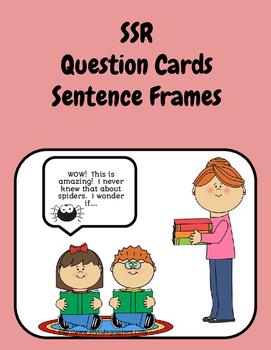 SSR Question Stems/Sentence Frames