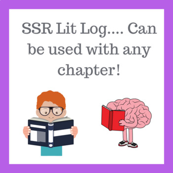 SSR Reading Log (use it for ANY chapter!)