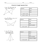 SSS and SAS Triangle Congruence Proofs