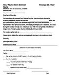 SST Notice to Parents