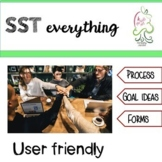 SST forms, process, goals, accommodations, meeting agenda