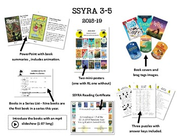 SSYRA 2018-2019 Extras and Battle of Books Grades 3-5