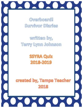SSYRA 2018-2019 Overboard! Survivor Diaries Comprehension Quiz
