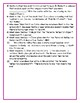 """SSYRA Comprehension Questions """"Save Me A Seat"""" By Sarah Weeks and Varadarajan"""