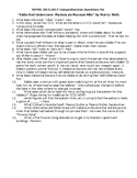 SSYRA Eddie Red Undercover Comprehension Questions with An