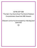 """SSYRA Questions for """"The Hero Two Doors Down"""" by Sharon Ro"""