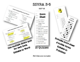 SSYRA 2017-2018 Quizzes 3-5