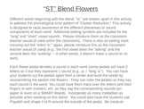 ST Blend Flowers to Address Cluster Reduction