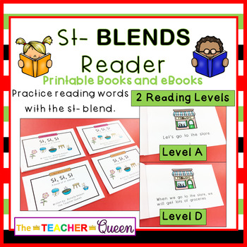 ST- Blend Readers Levels A and D (Printable and Projectable Books)