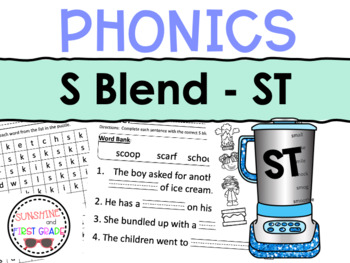 ST Blend Worksheet Packet
