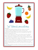 Smoothie Game for ST blends: Speech intervention, Cluster