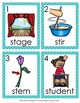 ST Blends Write the Room Activity