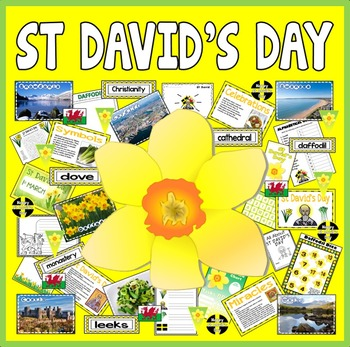 ST DAVID'S DAY TEACHING RESOURCES KS1-2 CELEBRATION TRADITIONS WALES DRAGON