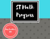 ST Math Progress Chart