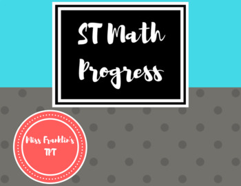 ST Math Progress Chart