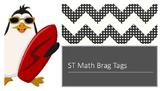 ST Math brag tags