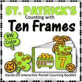 ST. PATRICK'S COUNTING WITH TEN FRAMES