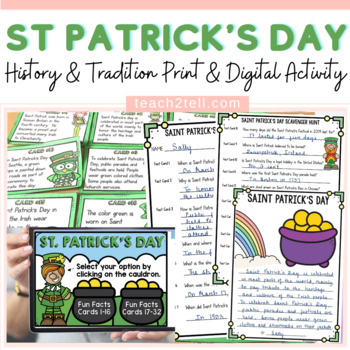 ST. PATRICK'S DAY: SCAVENGER HUNT