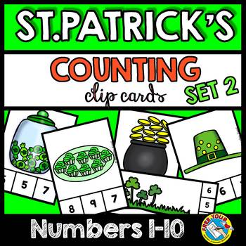 ST. PATRICK'S DAY ACTIVITIES NUMBERS 1-10 (ST. PATRICK'S DAY KINDERGARTEN MATH)