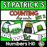 MARCH ACTIVITIES PRESCHOOL NUMBERS 1-10 (ST. PATRICK'S DAY KINDERGARTEN MATH)