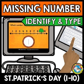 ST. PATRICK'S DAY ACTIVITIES PRESCHOOL MATH (COUNTING TO 10 BOOM CARDS BUNDLES)