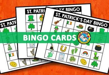 ST. PATRICK'S DAY BINGO GAME (MARCH ACTIVITIES) ST. PATRICK'S DAY KINDERGARTEN +