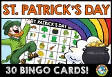 ST. PATRICK'S DAY BINGO GAME (MARCH ACTIVITIES KINDERGARTEN AND PRESCHOOL)