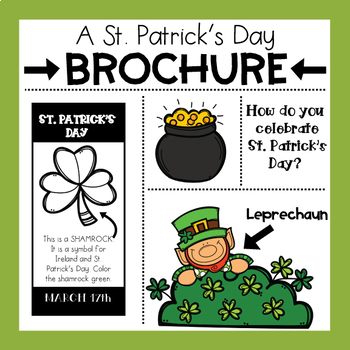 ST. PATRICK'S DAY BROCHURE